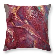 Syncopation 4 Throw Pillow