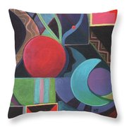 Synergy Throw Pillow