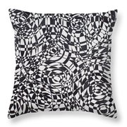 Synesthetic Charity- Spain 1 Throw Pillow