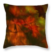 Synonymous Light Mourning A Dead Leaf Throw Pillow