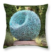 Syntax Sculpture  Throw Pillow