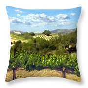 Syrah For Miles Throw Pillow
