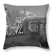 T-04902 Travelling To Climb In Style 1955  Throw Pillow
