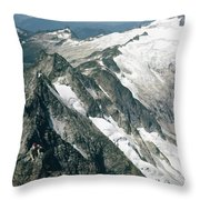 T-504406-c Walt Sellers On Torment Forbidden Traverse Throw Pillow