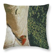 T 806610 Ed Cooper Cleaning Pitch Throw Pillow