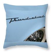 T Bird Throw Pillow