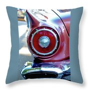 T-bird Tail Throw Pillow