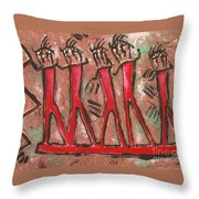 T. M. 8    No. 2 Of 2 Throw Pillow