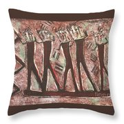 T. M. 8   No.1 Of 2 Throw Pillow