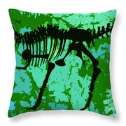 T. Rex Throw Pillow