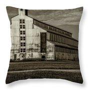 T W Samuels Rack House Throw Pillow