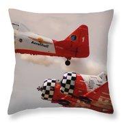 T6 Aerobatics II Throw Pillow