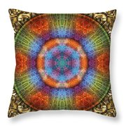 Shall We Gather At The River? Throw Pillow