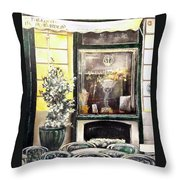 Taberna Del Alabardero-madrid Throw Pillow