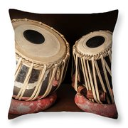 Tabla Musical Instrument Throw Pillow