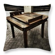 Table That Thought. This Beautiful Throw Pillow
