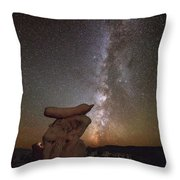 Table Top Milky Way Throw Pillow