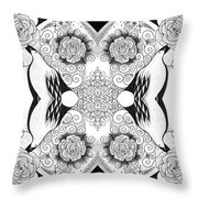 Tables Turning 2 Throw Pillow