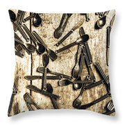 Tableware Abstract Throw Pillow