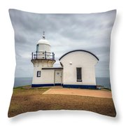 Tacking Point Lighthouse At Port Macquarie, Nsw, Australia Throw Pillow