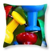 Tacky Art Throw Pillow
