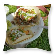 Taco Throw Pillow