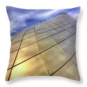 Tacoma Glass Museum Throw Pillow