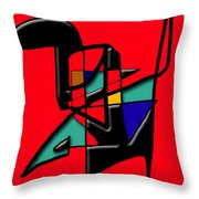 Tactile Space   II   Throw Pillow