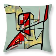 Tactile Space   IIi Throw Pillow
