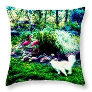 Tag You're It Throw Pillow