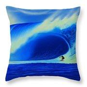 Tahiti 2007 Throw Pillow