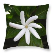 Tahiti Tiare 1 Throw Pillow