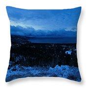 Tahoe Dawning Throw Pillow