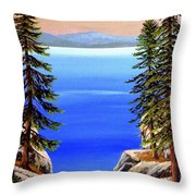 Tahoe Notch Throw Pillow