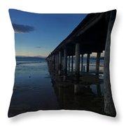 Tahoe Pier Throw Pillow