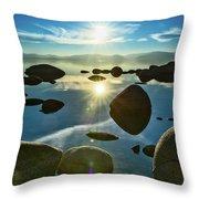 Tahoe Star Throw Pillow