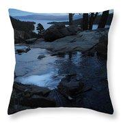 Tahoe Twilight Throw Pillow