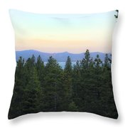 Tahome Sunrise Throw Pillow