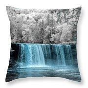 Tahquamenon Falls Ir 720nm Throw Pillow