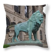 Tail Down Throw Pillow