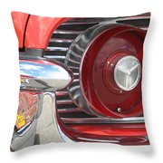 Tail Feathers Throw Pillow
