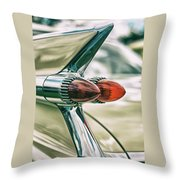 Tail Fin Throw Pillow