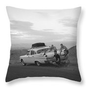 Tail Fins Throw Pillow