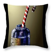 Tainted Candy Throw Pillow
