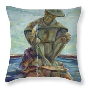 Taipei Fountain Throw Pillow