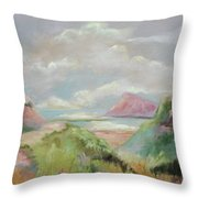 Taiwan Inlet Throw Pillow