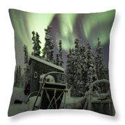 Take A Seat For The Aurora Throw Pillow