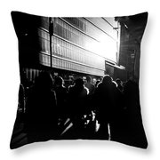 Take A Stroll With Me Once Again Throw Pillow