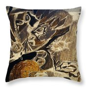 Take Another Look Throw Pillow by Tyler Schmeling