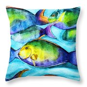 Take Care Of The Fish Throw Pillow
